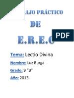 Trabajo Práctico de EREC 2013