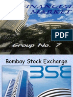 Financial Market - Bombay Stock Exchange