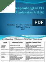Penelitian Tindakan Kelas 2012