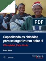 Capacitando Os Cidadãos Para Se Organizarem Entre Si Citi-Habitat, Cabo Verde