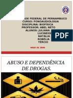 Abuso e Depend en CIA de Drogas 1.1