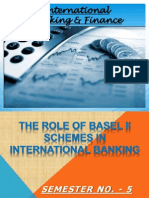 The Role of Basel 2 Schemes in International Banking