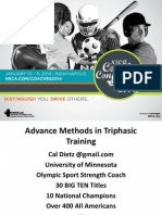 Cal Dietz Advance Methods in Triphasic Training Final
