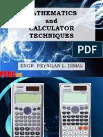Calculator Techniques - New