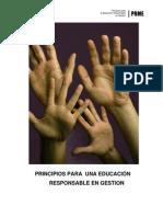 Global Compact -Principios de Educacion Responsable en Gestión