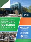 Oakland County Economic Outlook 2014 - 2016