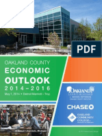 Oakland County Economic Outlook 2014 - 2016