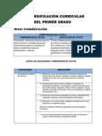 Diversificación 1ro 2014