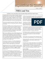 Fmea and You