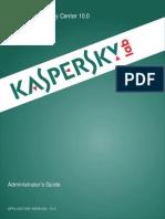 Manual Kaspersky Security Center 10.0.0