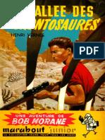 La Vallee Des Brontosaures - Vernes,Henri
