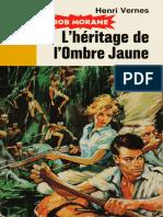 L'Heritage de l'Ombre Jaune - Vernes,Henri