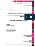 fortalecimientodelosserviciosbasicosdesaludynutricion-130831210548-phpapp01
