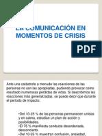 3.- Comunicacion en Momentos de Crisis