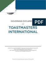 TM Governing Document