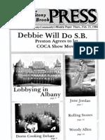 The Stony Brook Press - Volume 5, Issue 17