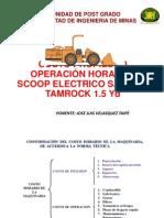 Ppt Costo Propiedad Operación Hora Del Scoop Electrico Sandvik