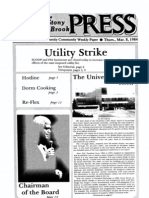 The Stony Brook Press - Volume 5, Issue 19