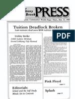The Stony Brook Press - Volume 5, Issue 20