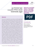 Epidemiology of tension-type headache (TTH) in Assuit Governorate, Egypt