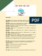 F. DE TIPOS DE ISO