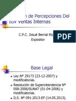 CCPL Percepciones IGV