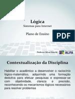 Slides - Aula 0 - Plano de Ensino (Contextualização, Ementa, Objetivos e Conteúdo Programático)