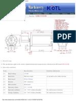 Jin-Long Vibrator Motor 6dh-0509b