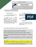 Resultado GEAGU Subjetiva 2011.51 (Ata)