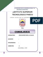 Monografia Consejeria en Salud