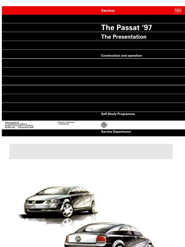 vw passat b5 self study guide sp191 airbag headlamp rh scribd com Self- Development Self- Development