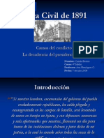 4 Bustos Guerra Civil de 1891 Ppt