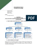 Cuestionario (Psicología Geneal II)