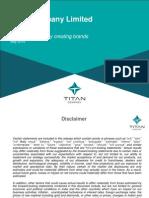 Titan Investor Presentation
