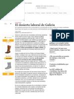 El Desierto Laboral de Galicia