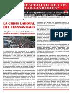 El Despertar de Los Trabajadores - Junio 2014