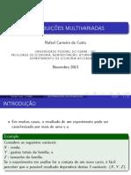 Distribuições Multivariadas.pdf