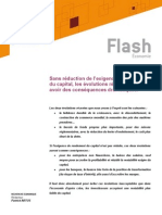 Flash Natixis Exigence de Rendement