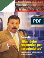 Boletín Nº 17 del Grupo Parlamentario Nacionalista Gana Perú