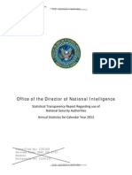 NSA Transparency Report for 2013