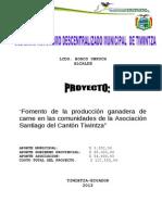 Proyecto Ganadero-Asociación Santiago