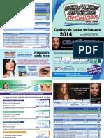 Lista de precios en lentes de contacto
