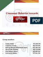 Consumer Behavior - Deshal