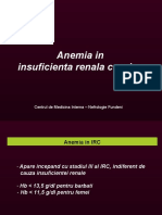 Anemia in insuficienta renala cronica
