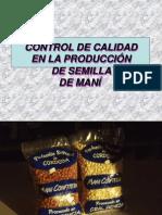 ControlCalidadProduccionDeSemillaDeMani