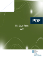 2010 MLS Technology Survey