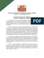 Circular Académica Jornadas ENEH