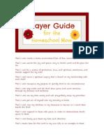 Prayer Guide for HS Moms