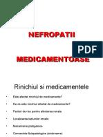 Nefropatii Medicamentoase