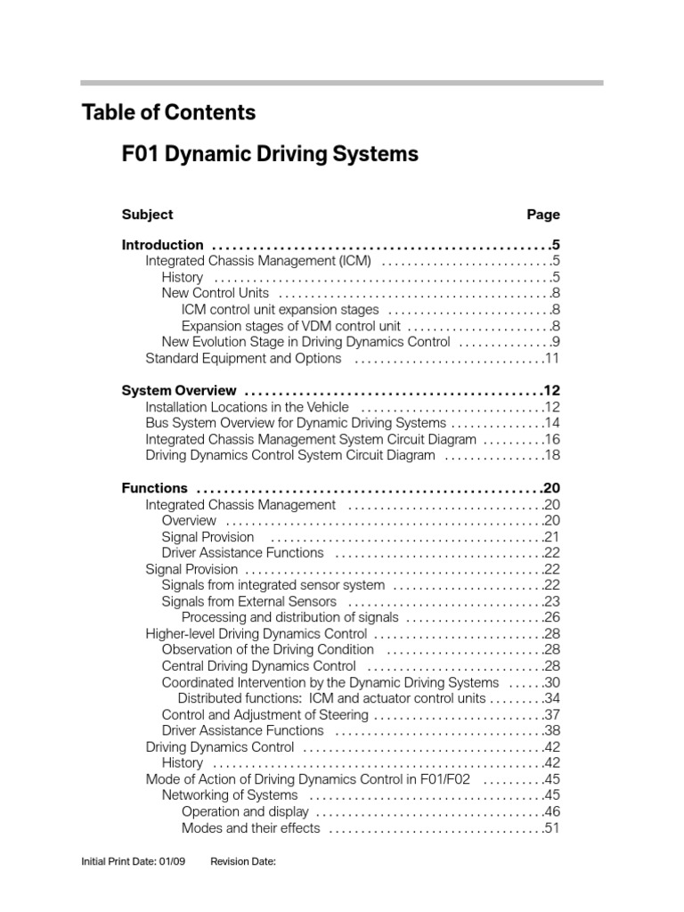 Dynamic Driving Systems1 Steering Signal Electrical Engineering Bmw Servotronic Wiring Diagram